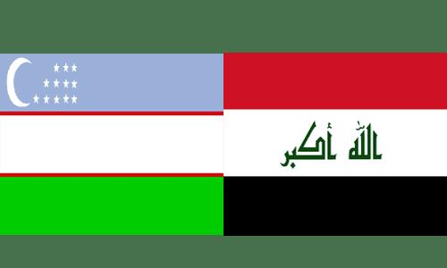 العراق واوزبكستان بث مباشر