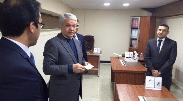 باقر الزبيدي افتتح بناية قسم السلامة الجوية في مطار بغداد الدولي بعد تأهيلها.