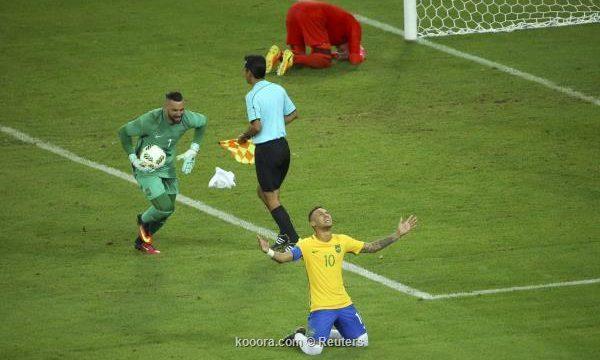 البرازيل تحصد الذهب الاولمبي لاول مره في تاريخها ريو 2016م