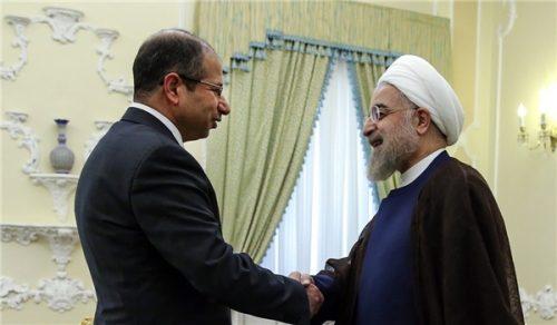 روحاني للجبوري: ايران ستبقى إلى جانب العراق