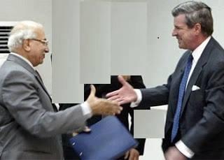 رأي السيد مدحت المحمود بالقضاء العراقي في ظل الاحتلال .