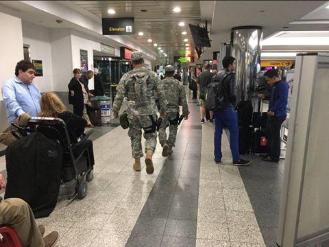 اخلاء Terminal B في مطار لاكوارديا نيويورك