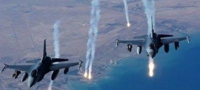عاجل:ضربه جوية على أحد مقرات داعش في داخل الموصل