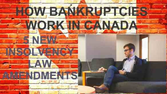 how bankruptcies work in canada