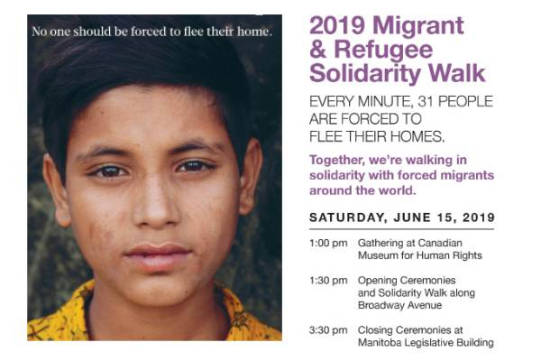 Migrant & Refugee Solidarity Walk