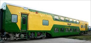 Chennai Central – Bangalore City AC Double Train