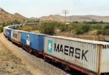 Parcel Cargo Express Train