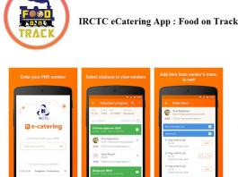 IRCTC eCatering App : Food on Track