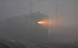 Fog affected trains status