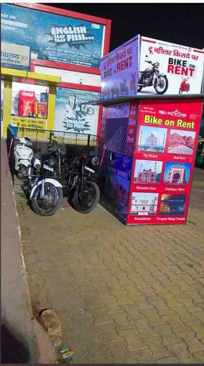 Agra Cantt Station : Bike on Rent Facility Launched