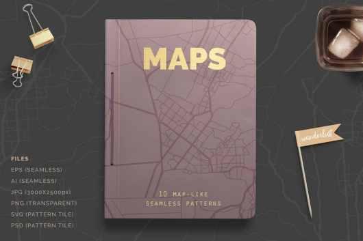 Photoshop Maps Patterns