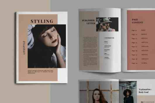 Styling Fashioned - Brochure Template