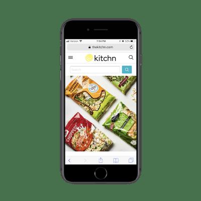 Kitchn mobile search