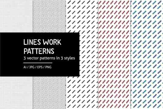 Lineswork - Lines Work Patterns