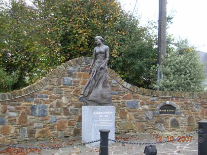 Sarah Curran Monument - Newmarket