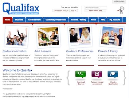 qualifax post leaving cert certificates
