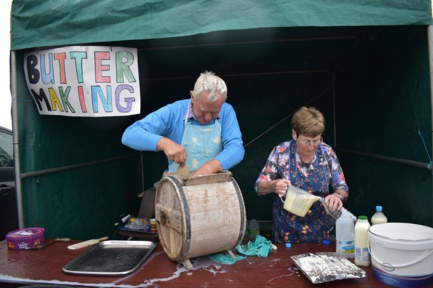 Butter Making traditionally