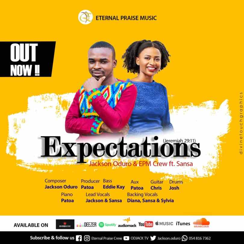 Download Jackson Oduro & EPM Crew ft Sansa - Expectation