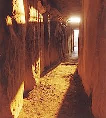 Newgrange lighting up
