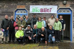 The Bioblitz Team at Glengarriff Woods Nature Reserve in 2012