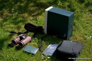 Swarovski CL Companion Binocular -- What's in the box?