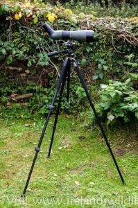 Vanguard Alta Plus 233 Tripod with Meopta Meostar S2 Spotting scope