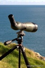 Testing the Meopta Meostar S2 82 HD on location in Ireland
