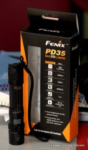 Fenix PD35 LED Flashlight Review
