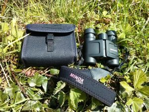 Minox BV 8x25 and case