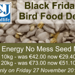 Black Friday Bird Food Deal from CJ Wildlife