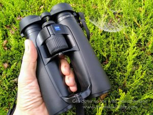 ZEISS Vicrory SF in the hand
