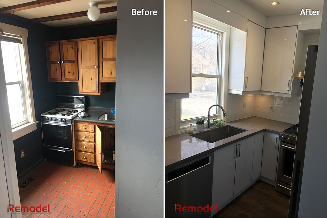 Home Renovations in Toronto Before and After Photo Gallery on Modern:gijub4Bif1S= Kitchen Remodel  id=49379