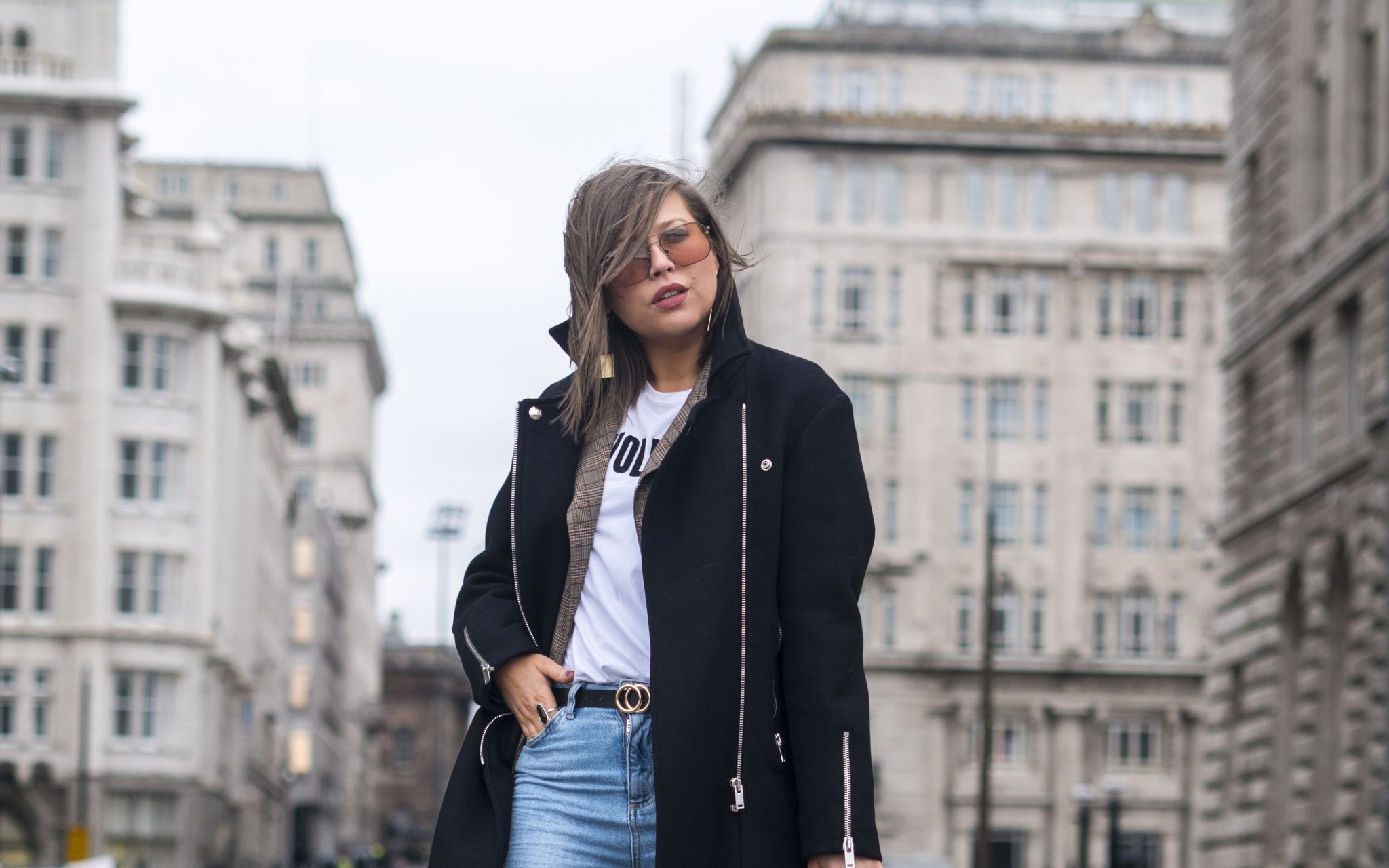 manchester fashion blogger, vintage Louis Vuitton , fashion blogger, sunglasses, mango jewellery, mango girls