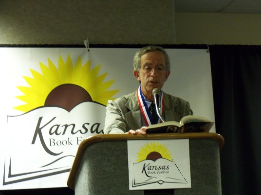 Jack Mayer speaks at the Kansas Book Festival in Topeka, KS on September 24, 2011.