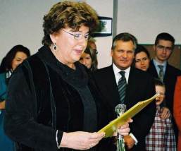 Elzbieta Ficowska at Ceremony Honoring Irena_6111249164_o