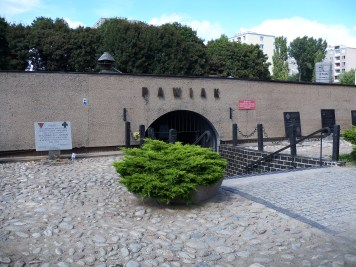 The prison where Irena was held by the Nazis