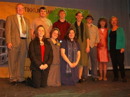 Our cast in Los Angeles in February of 2007, with Dr. Jane Foley and President of the World Federation of Jewish Child Survivors of the Holocaust, Stefanie Seltzer.