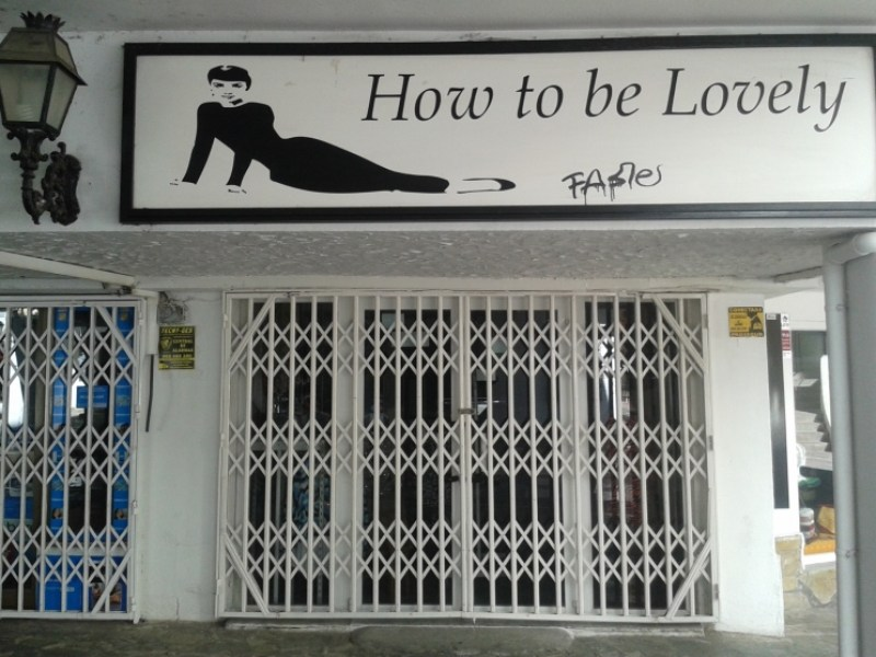 'How to be lovely', Fuengirola, Spain