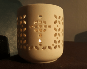 celtic tea light