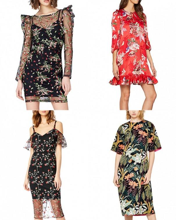 vestiti floreali da acquistare