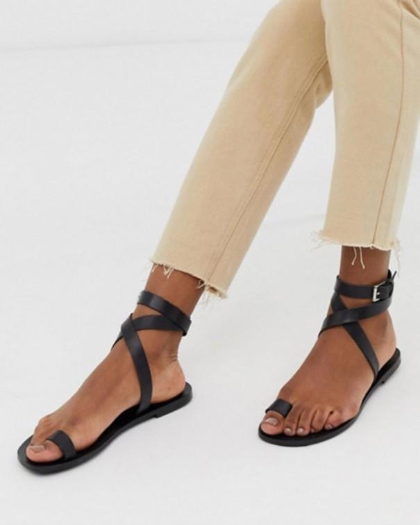 sandali-flat-neri