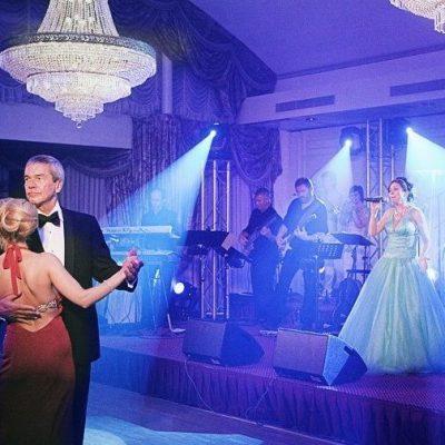 Optreden AVL Gala Grand Hotel Huis ter Duin met Groot Showorkest de Heverband en Big, Black and Beautiful