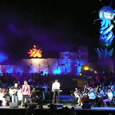 Lajatico concert with Andrea Bocelli Toscana