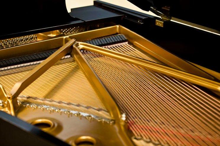 Piano binnenin