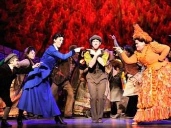 Leerlingen mary poppins musical