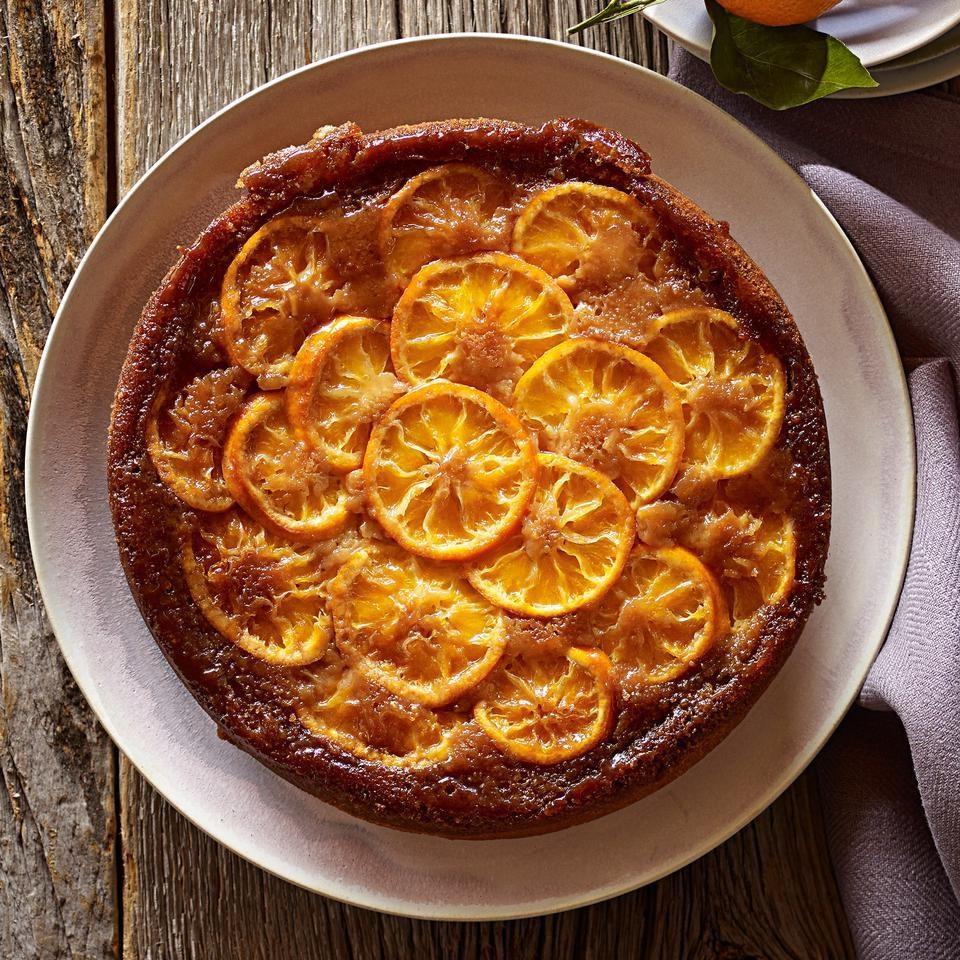 Torta soffice con clementine di Calabria