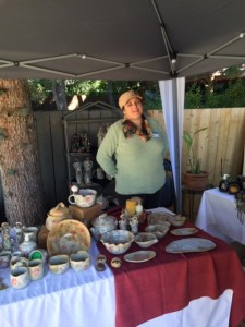 Lara Peters & Pottery @ Art in the Garden Show & Sale