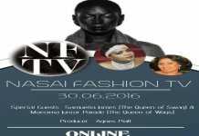 Nasai Forna and Ise Wurie Stevens brings you Nasia FashionTv Live weekly programme