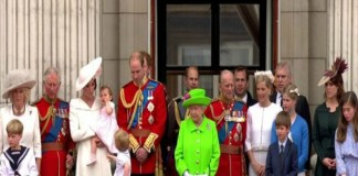 Agnes Pratt visits to Westminster Abbey for the queen parade
