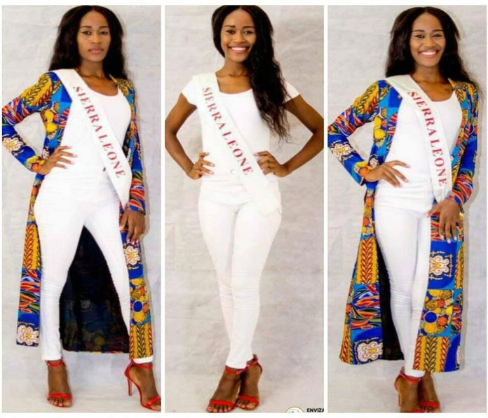 FATMATA KOROMA REPRESENTING SIERRA LEONE AT THE MISS FREEDOM OF THE WORLD 2017 INTERNATIONAL PAGEANT IN KOSOVO